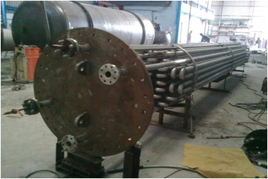 Heat transfer equipment manufacturer of heat exchanger for Internal pipe heater